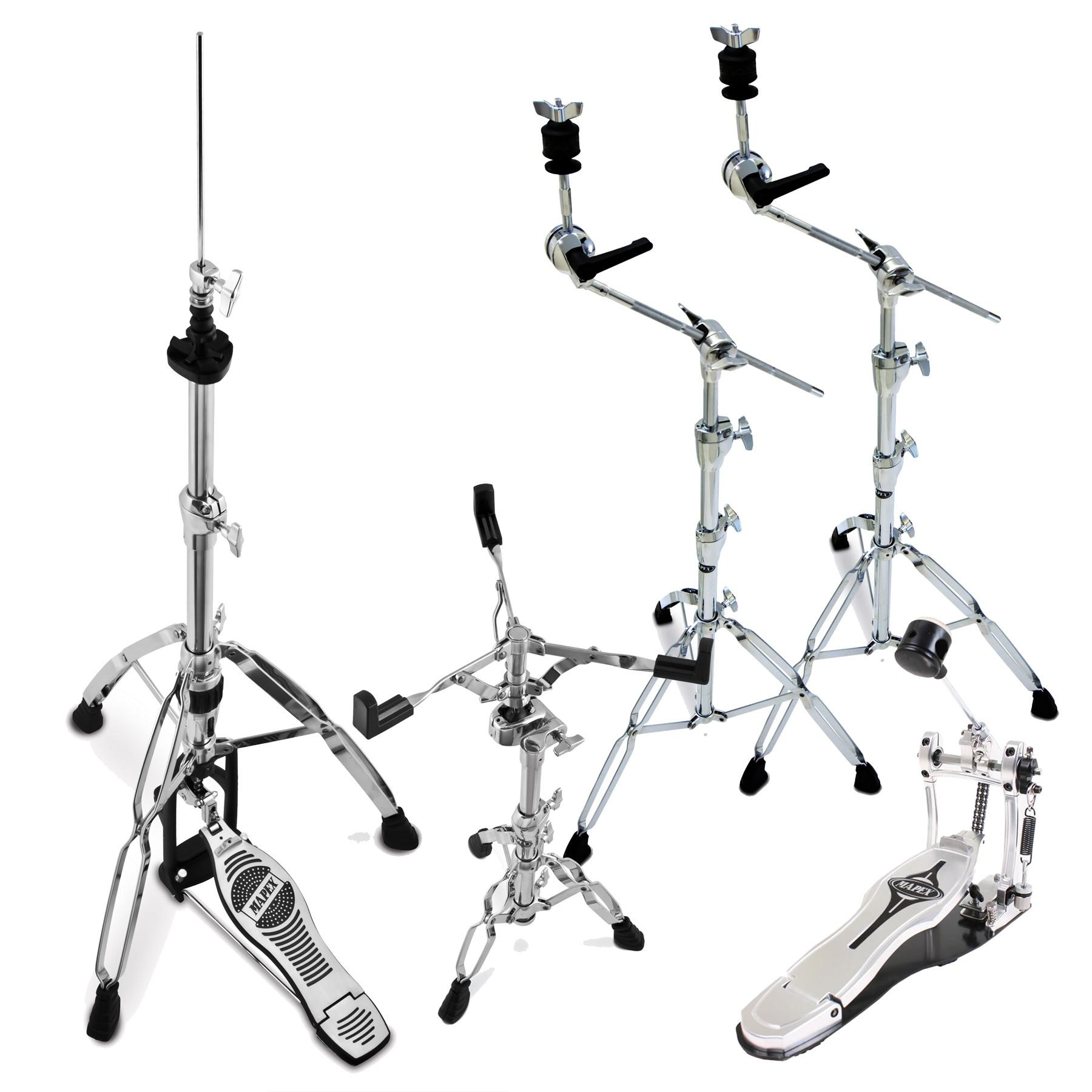 Hardware drumstel: Dubbelbenige statieven