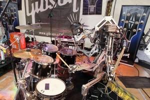 Cyborg drummer