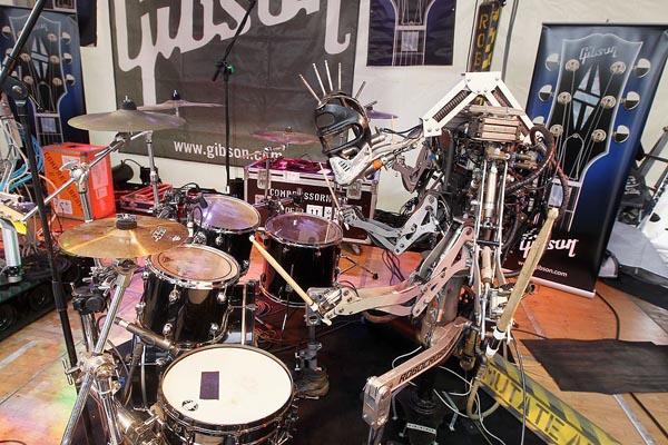 Drummende robot