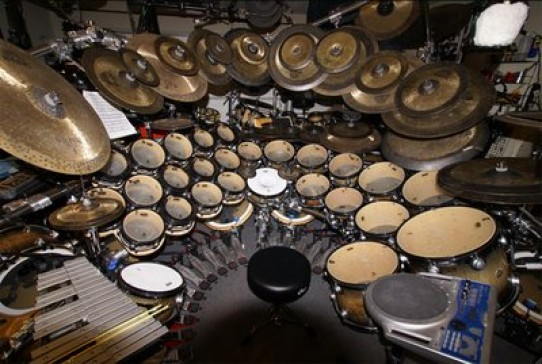 Terry Bozzio Drumset | Drumsteladvies.nl