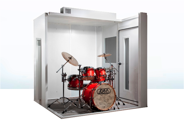 Zeer Een oefenruimte maken - Drumsteladvies CE92
